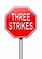 Three Strikes Law - A General Summary