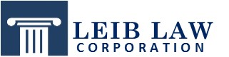 Los Angeles Criminal Defense Attorney-Pasadena Ontario | Leib Law Logo